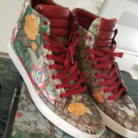 fa7ec167b Gucci Shoes   Supreme St Tian Dark Red Sz 11   Poshmark